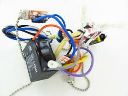 35 used emerson ceiling fan wiring harness switches capacitor image is loading 35 used emerson ceiling fan wiring harness