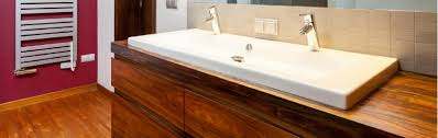 solid timber bathrooms