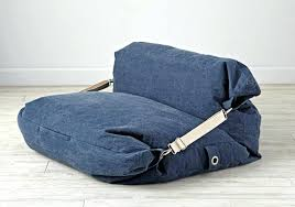 architecture denim bean bag chair elegant orka classic round puffy combo filled with beans for