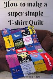 Creating my way to Success: How to make a super simple T-shirt ... & Creating my way to Success: How to make a super simple T-shirt Quilt Adamdwight.com