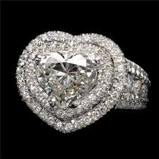 heart shaped diamond wedding ring. a heart-shaped diamond wedding ring heart shaped