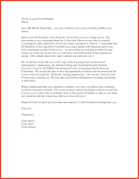 mla cover letter example best of mla format letter types of letter