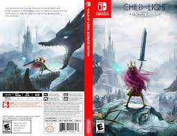 Child Of Light Box Art Child Of Light Box Art First Attempt At This