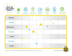Bedtime Chart For Adults Healthy Bedtime Routine Ideas For Kids Printable Sleep