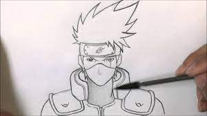 Kakashi Drawing Anime Naruto Shippuden Kakashi Drawing Naruto - Novocom.top