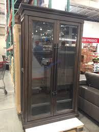 78 glass door bookcase costcochaser