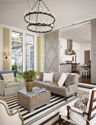formal living room ideas farmhouse with large windows chandeliers