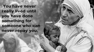 Mother Teresa Quotes On Love Unique Mother Teresa's Quotes Better Life