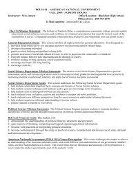 pols 101 - CSI Social Science Department