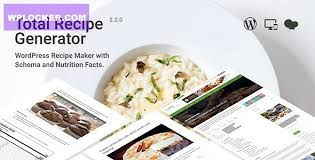Total Recipe Generator v2.2.0 - WordPress Recipe Maker with Schema and Nutrition Facts » WPLOCKER.COM - GPL LICENSED WORDPRESS THEMES & PLUGINS