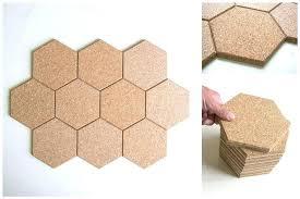 cork wall tiles luxury cork board wall tiles hexagon cork board tiles extraordinary these beautiful brown
