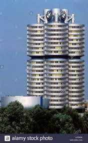 Head office of BMW at Munich Bavaria Germany Stock Photo: 5897923 ...