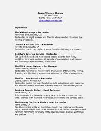 Lead Bartenderme Examples Templates Amazing Job Description For