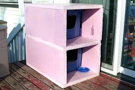 outside cat house diy outdoor cat house outside cat shelter cat house diy outdoor