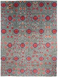 suzani wool rug