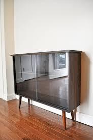 cabinet modern bookcase livingurbanscape mid century mcm danish gallery and bookcases folding metal shelves slimline oak