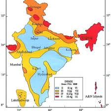 This mapping is done on the basis of past history and factors responsible for such disaster of present in that area. Seismic Zonation Map Of India Published By Bureau Of Indian Standards Download Scientific Diagram