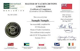 International Yacht Government Recognition Training iyt