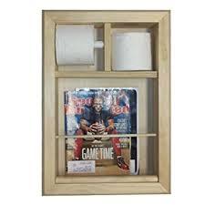 Toilet Paper Holder With Magazine Rack Amazon Wall Mounted Magazine Rack and Toilet Paper Holder 54