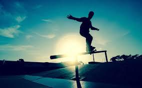 skateboarding image