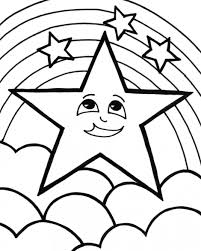 shooting star coloring page. Modren Star Shooting Star Coloring Page 22 With And O