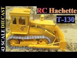 <b>Радиоуправляемый трактор</b> Т-130 <b>RC</b> Hachette 43 scale diecast ...