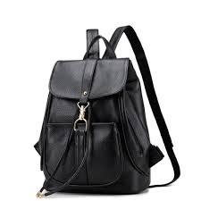 luxury brand designer women leather backpack
