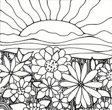 Plant Coloring Pages Flower Garden Coloring Pages Printable Free