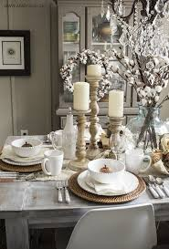 Dining Room Table Settings Decoration