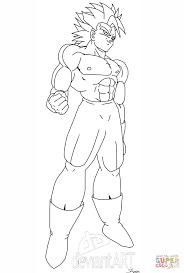 Small Picture Super Saiyan Coloring Pages Dragon Ball Z Goku Super Saiyan 2