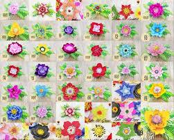 Paper Flower Designs 290 Designs Giant Paper Flowers Svg Paper Flower Template Svg Flowers Printable Pdf 3d Flower Svg Flower Backdrop Template Svg