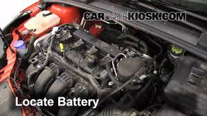 battery replacement 2012 2016 ford focus 2012 ford focus se 2 0 2014 Ford Focus Fuse Box Diagram battery replacement 2012 2016 ford focus 2012 ford focus se 2 0l 4 cyl sedan 2014 ford focus fuse box diagram