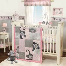 cozy beautiful girl bedding sets bedroom baby also pink and grey crib set cot brown girls