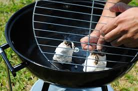 if your barbecue has a bottom net place it and pile up some charcoal on top make sure not to block some air flow to the flames