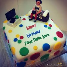 Special Birthday Cake For Boys With Name