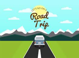 Road Trip Scene - Download Free Vectors ...