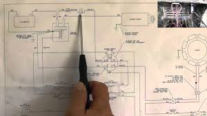 riding mower, starting system wiring diagram part 1 youtube  at Wiring Harness For 1998 Murray Mower 14 5hp