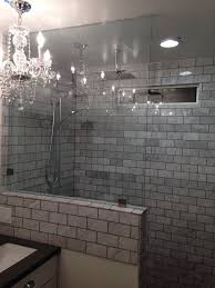 tile panels for bathrooms knee wall yes tile work no bathroom remodel glass