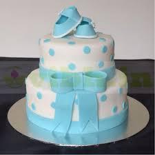 Designer Baby Shower Cakes 2 Tier Baby Shower Designer Fondant Cake