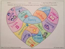 read with me abc mentor texts for writing ideas Heart Map For Writers Workshop heart map {freebie} created by 3rd grade grid iron Writing Heart Map Printable