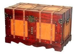 Decorative Storage Box Sets Treasure Chest Storage Box Large Antique Style Steamer Trunk 84