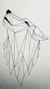geometric wolf by on deviantart