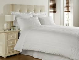 white double bed size seerer print 300 thread count luxury 100 egyptian cotton duvet cover and pillow cases bedding set by viceroy bedding