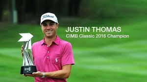 Image result for justin thomas wins cimb classic
