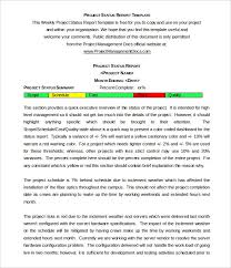 Management Report Template 35 Word Pdf Apple Pages