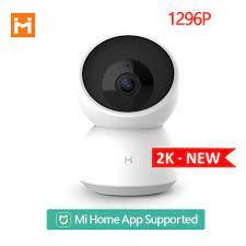 Güncelleme Xiaomi Mijia akıllı kamera A1 kamerası 1296P Hd Wifi Pan Tilt  Nachtzicht 360 Hoek Video kamera bebek güvenlik monitör|360° Video Camera