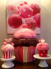 Cupcake Kitchen Decorations Valentine Kisses Hugs Diy Decor Gift Idea A The Seasonal
