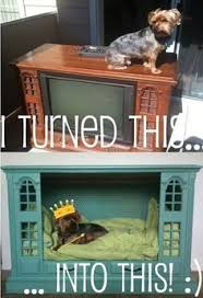 repurpose furniture dog. Turn Your Old TV Console Into Canine Friend\u0027s Bed With This Easy DIY Project. I Don\u0027t Have Our Anymore T Repurpose Furniture Dog
