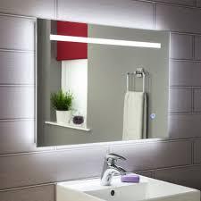 Bathroom Mirrors Simple Battery Operated Led Bathroom Mirrors