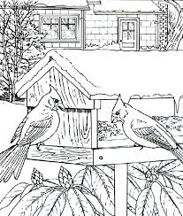 Small Picture Cartoon Cute Baby Cardinal Chick Flying Colouring Page Cartoon